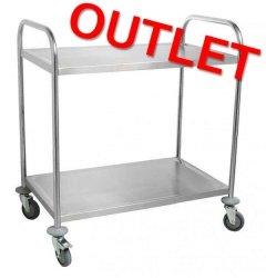OUTLET | Wózek kelnerski 2 półki COOKPRO 640030001 640030001