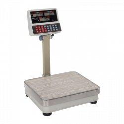 Waga sklepowa Steinberg Systems SBS-PW-100/10 100kg podziałka 10g biała LCD STEINBERG 10030111 SBS-PW-100/10