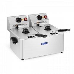 Frytownica - 2 x 8 litrów - termostat E.G.O. ROYAL CATERING 10010151 RCEF 08D-EGO