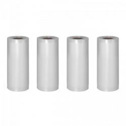 Folia moletowana do pakowania próżniowego - 4 rolki - 600 x 20 cm ROYAL CATERING 10010679 RCVR-SET 1