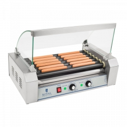 Grill rolkowy - 7 rolek - teflon ROYAL CATERING 10010470 RCHG-7T