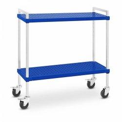 Wózek kelnerski - 2 półki - 50 kg - 375 x 1040 mm ROYAL CATERING 10011723 RC-STSS1016