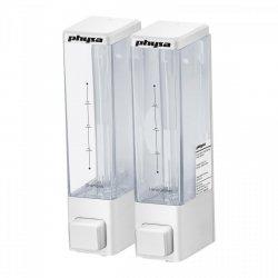 Dozownik do mydła 2 x 250 ml biały PHYSA 10040155 Malena W2