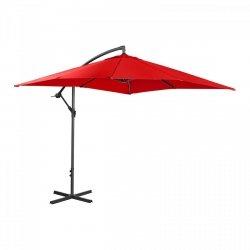 Parasol ogrodowy wiszący - 250 x 250 cm - czerwony SINGERCON 10110081 CON.GU-R250
