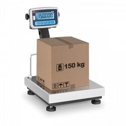 OUTLET   Waga platformowa - 150 kg / 50 g - legalizacja TEM 10200001 BEKO+LCD035x040150-B1