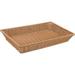 Koszyk do pieczywa z polipropylenu GN 1/1 brązowy STALGAST 361301 361301