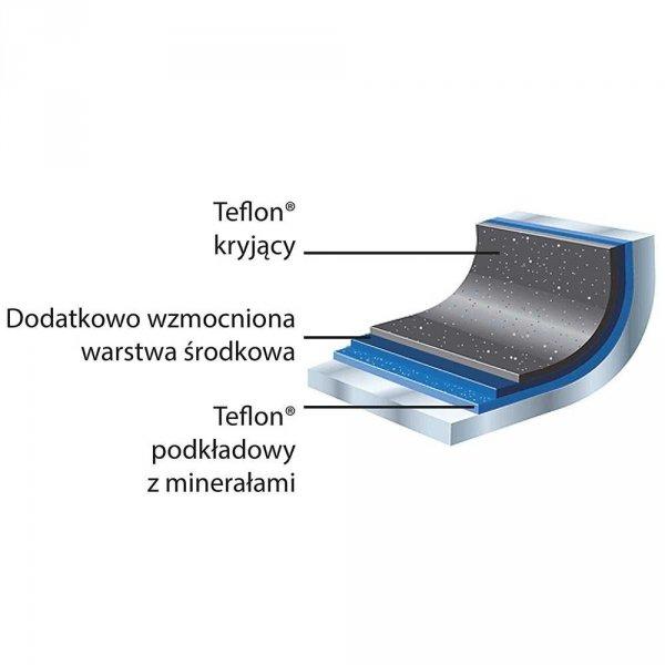 Patelnia nieprzywierająca PLATINUM do indukcji d 280 mm