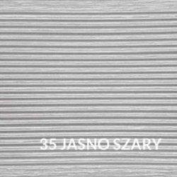 Deska tarasowa Gama - kompozytowa jednostronnie ryflowana 25x140x2400 Jasno-szara