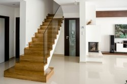 Trep dębowy lity drewniany kl.natur 30x300x1000mm