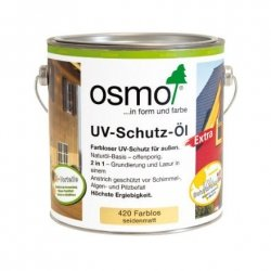Osmo 420 Bezbarwny z Aktywnymi Składnikami Olej Ochronny UV 25l