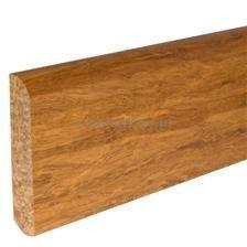 Teak listwa cokołowa lita surowa 15x95x2200mm