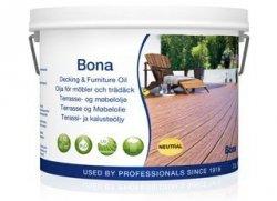 Bona olej do zewnętrznych powierzchni drewnianych i mebli czarny 2,5l