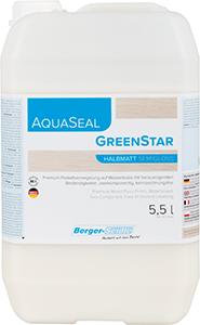 Lakier wodny AquaSeal Green Star 5,5l półmat