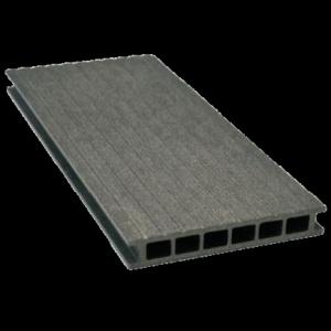 Deska tarasowa GAMRAT - kompozytowa ryflowana 25x160x4000 Grafit Wersja N