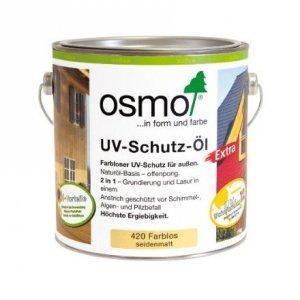 Osmo 420 Bezbarwny z Aktywnymi Składnikami Olej Ochronny UV 2,5l