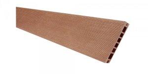 Deska tarasowa kompozytowa Viva ryflowana szlifowana 24x145x2400mm brąz