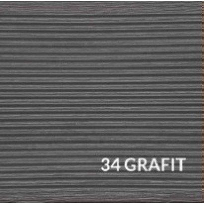 Deska tarasowa Gama - kompozytowa jednostronnie ryflowana 25x140x2400 Grafit
