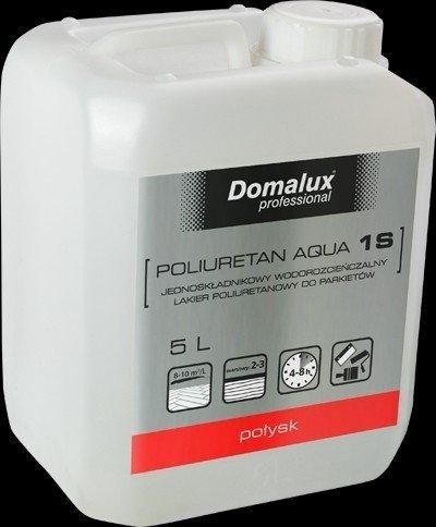 Domalux poliuretan aqua 1 s półmat 5l