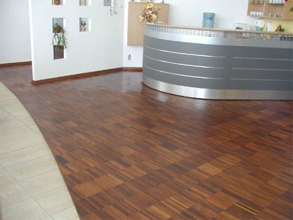 Mozaika przemysłowa Merbau 14x20x250/300 mm