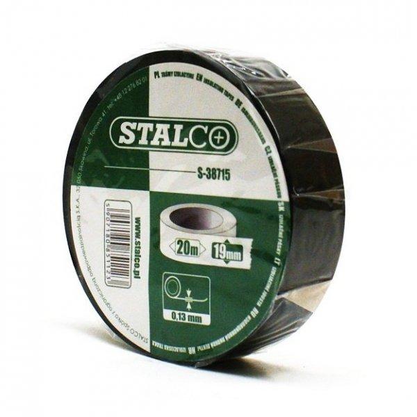 Taśma izolacyjna czarna PCV Stalco