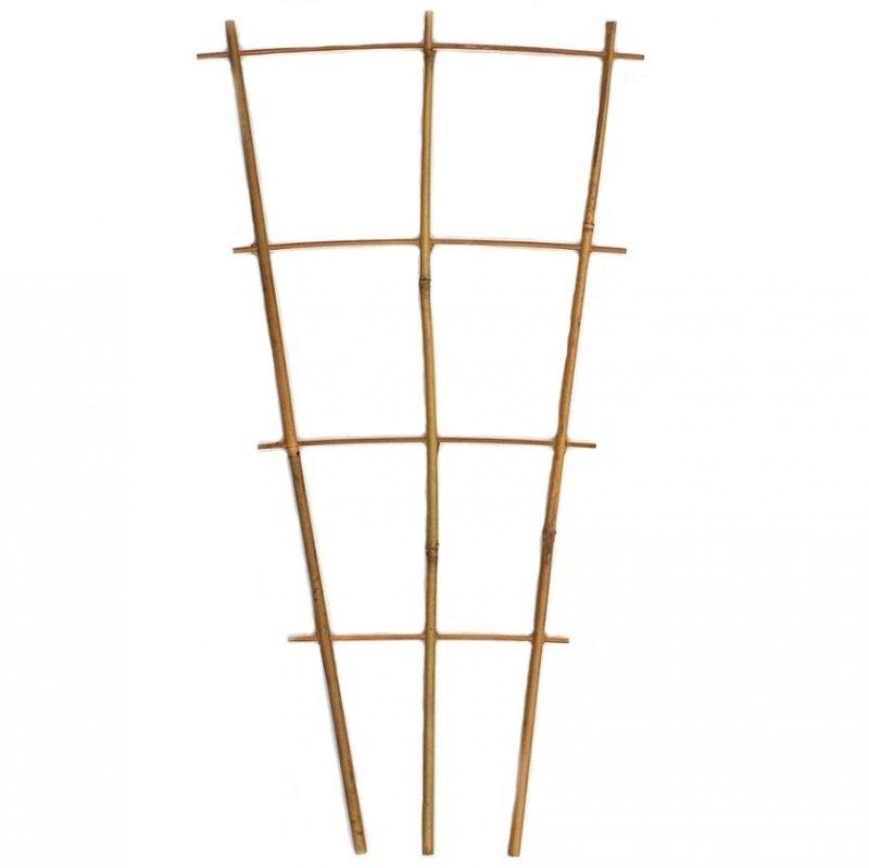 Drabinka bambusowa potrójna 60cm
