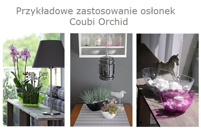 Doniczka miska Coubi Orchid