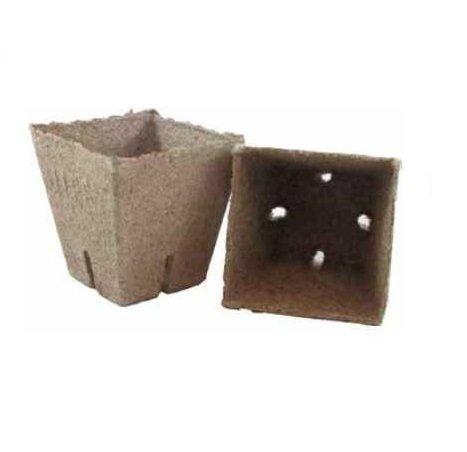 Doniczki torfowe JIFFY kwadratowe 8x8cm  100szt. PROMOCJA