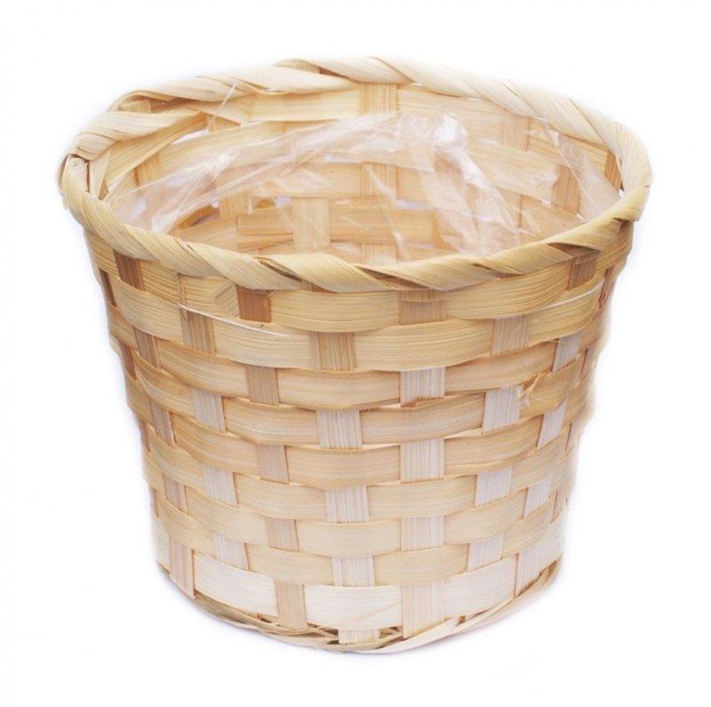 Doniczka osłonka bambusowa