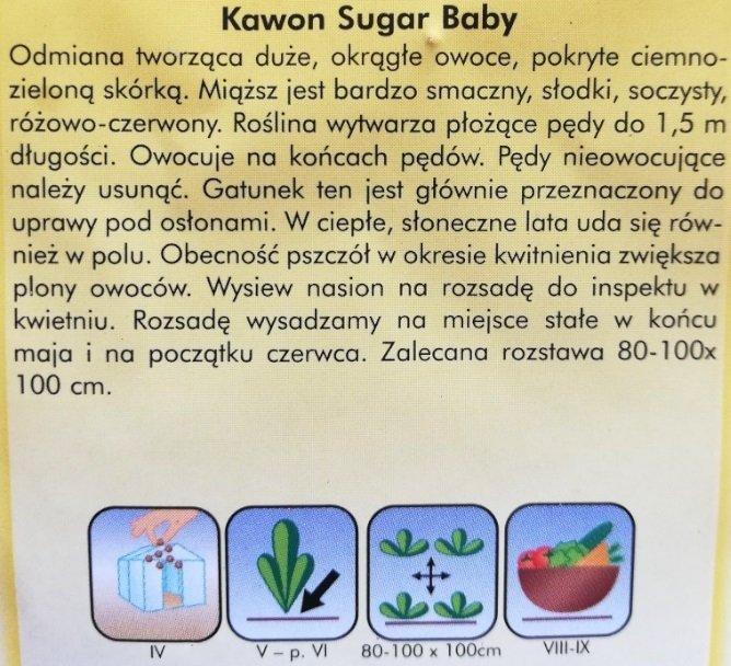 Kawon Sugar Baby nasiona Plantico