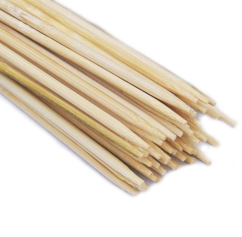 SZPILKI BAMBUSOWE 40cm patyczki z bambusa 100szt.