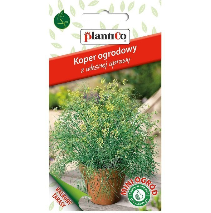 Koper doniczkowy nasiona mikrolistki Plantico