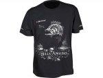 Dragon Koszulka T-shirt HELLS ANGLERS Okoń Czarna M