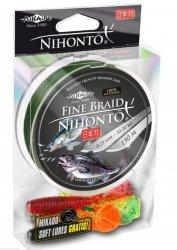 Mikado plecionka NIHONTO FINE BRAID 150m Zielona + GRATIS