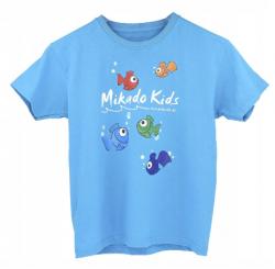 Mikado Koszulka T-shirt Kids Niebieska 128
