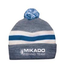 Mikado Czapka Zimowa Niebiesko Biała
