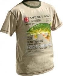 Dragon koszulka T-shirt SZCZUPAK Sand L