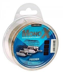 C-Tec Żyłka Mono X  Feeder Brown 0,28mm 500m