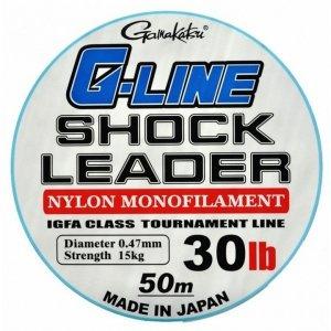 Gamakatsu Strzałówka G-Line Shock Leader 0,47mm 50m