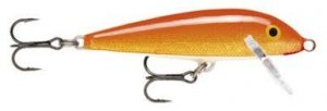 Rapala Wobler COUNTDOWN SINKING CD-5 5cm 5g Gold Fluorescent Red