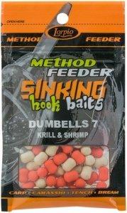 Lorpio Sinking Dumbells 7 Krill&Shrimp 20g