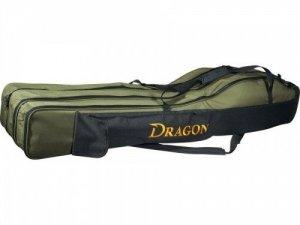 Dragon Pokrowiec na wędki 3 komory 145cm