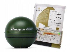 Deeper CHIRP+ Echosonda + WESTIN ZANDER GIFT BOX