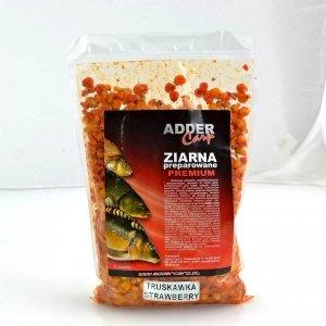 Adder Carp Ziarna preparowane Premium Kukurydza Truskawka