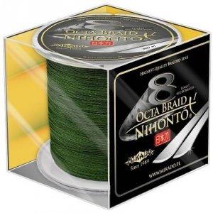 Mikado Plecionka NIHONTO OCTA BRAID 0,20mm Green