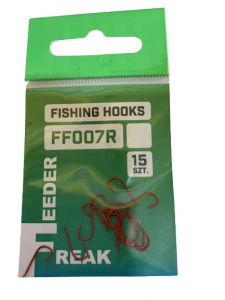 Feeder Freak Haczyki FF007R Nr 18 / 15szt