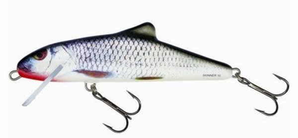 Salmo wobler SKINNER 10F RGS - Real Grey Shiner