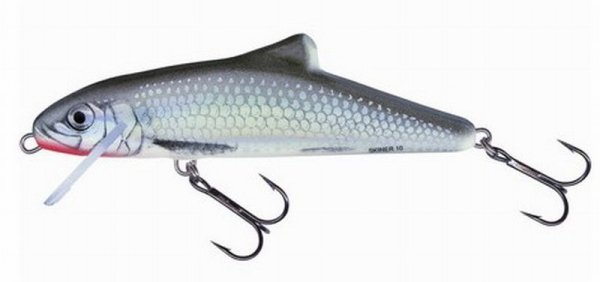 Salmo wobler SKINNER 10F HGS - Holo Grey Shiner