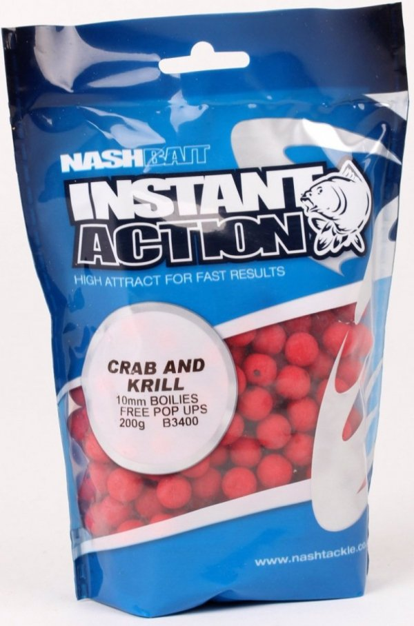 Nash INSTANT ACTION  15mm 1kg - Crab and Krill