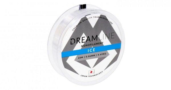 Mikado Żyłka Podlodowa DREAMLINE ICE 0,14mm 60m