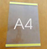 Kieszeń samoprzylepna plakatowa A4